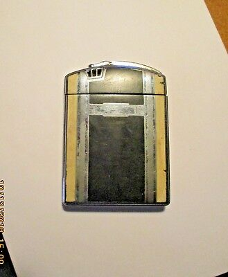 Vintage Ronson Lighter & Cigarette Case Combo