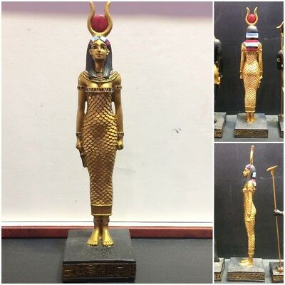"""ISIS 8"""" ancient goddess egyptian statue collectible egypt sculpture rare figure"""