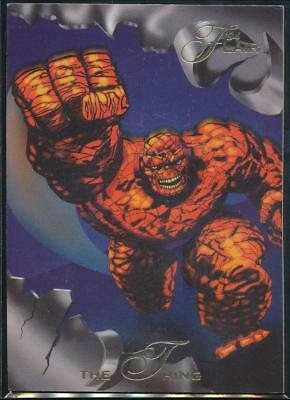 1994 Flair Marvel Annual Trading Card #1 The Thing