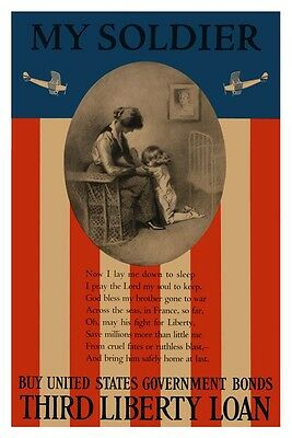 US Marines ARMY Navy Air Force USMC My Soldier Prayer Wall Poster Art print