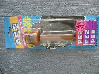 Vtg 1997 Star Wars WICKET PEZ Mint on Card Candy & Dispenser