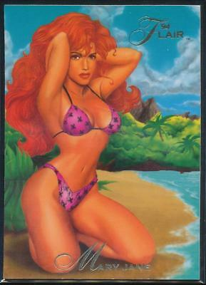 1994 Flair Marvel Annual Trading Card #24 Mary Jane
