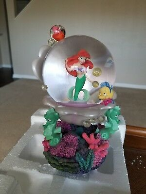 Ariel In The Shell Snow Globe Song Title: Under The Sea