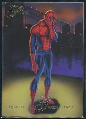 1994 Marvel Annual Trading Card #32 Death of Gwen Stacy