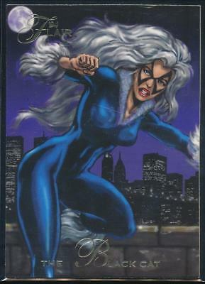 1994 Flair Marvel Annual Trading Card #37 The Black Cat