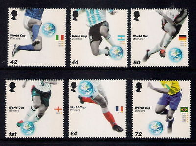 Gb 2006 World Cup Mnh Set Of 6 Stamps
