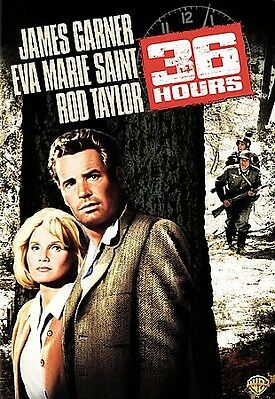 36 Hours DVD 1964 New James Garner Eva Marie Saint Rod Taylor NEW SEALED