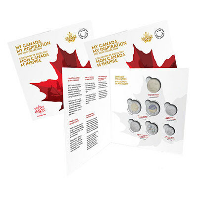 2017 Canada 150th Anniversary Coin Holder Empty Collector Card Folder *No Coins