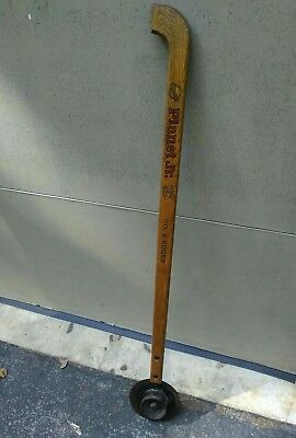 Vintage Garden Tool Planet Jr #2 Edger with Wood Handle and Steel Wheel