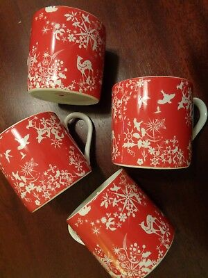 studio tord boontje for target 4 red christmas mugs