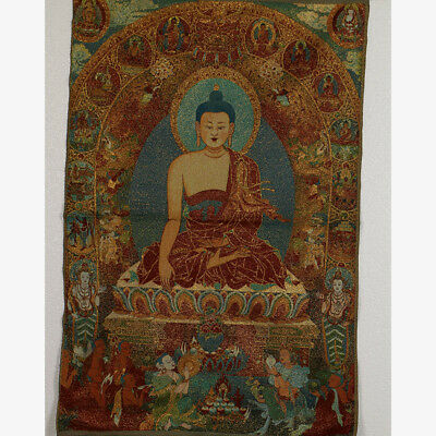 Tibet Collectable Silk Hand Painted Buddhism  Thangka RK007.a