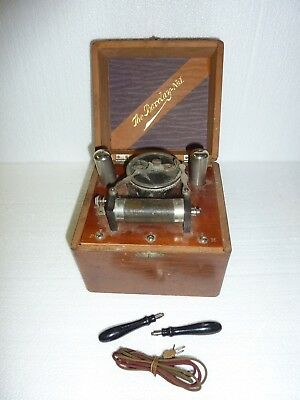 Antique Barclay No. 1 Induction Coil with wood box
