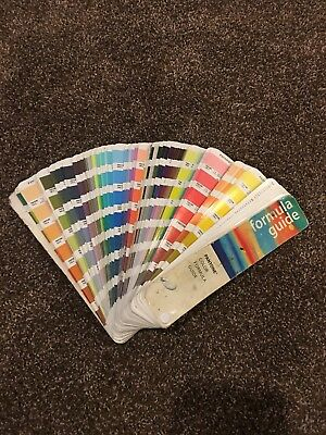 Vtg Pantone Color Formula Guide 13th Edition 1998 1999 Color Swatch Fan Deck