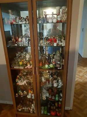 SALT & PEPPER collectables.  great for beginner or keen collector. inc. cabinet.