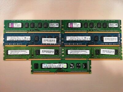 4GB & 2GB DDR3 Memory RAM Various Speeds and Specs (Samsung, Kingston, SKHynix)