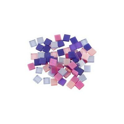 Mini Mosaic, size 5x5 mm, thickness 2 mm, purple/pink harmony, 25g [HOB-51928]