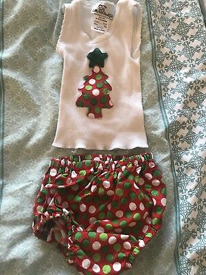 Size 000 Xmas Outfit