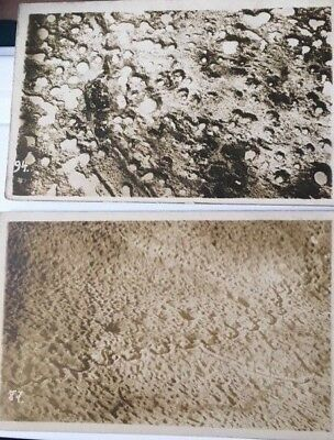 2-Ww1 Ypres Battlefield Postcards (German?)-- Brought Back By Aef Uncle !