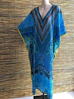 Embelished caftan.Maxi length.Non see thru.Suit mny sizes.Good quality.Brand new