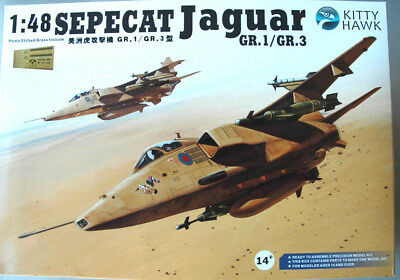 Kitty Hawk 1:48 KH 80106 Sepecat Jaguar GR.1 / GR.3