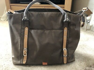 Pacapod Mirano In Pewter Changing Bag And Accessorise