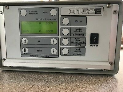 BROOKS INSTRUMENT 0152E 2-Channel mass flow controller/flow meter readout