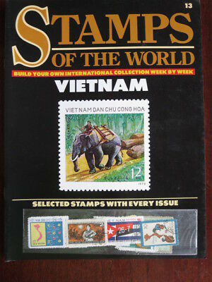 Stamps of the Vietnam  including the issue No 13