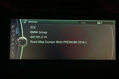 Bmw Cic Satnav Premium Europe West 2019-1 Map Update Fsc Code & Maps E60 E90 F10