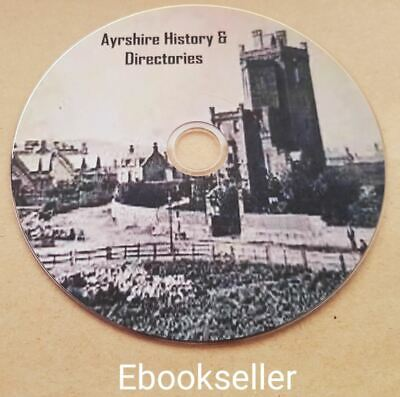 Ayrshire history and Ayr local directories in pdf ebooks local genealogy on disc