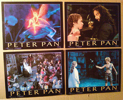 Lobby Card Lot~ PETER PAN ~2003 ~Jeremy Sumpter~Jason Isaacs~Rachel Hurd-Wood~CS