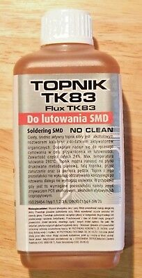 100ml ALCOHOL BASED SOLDERING LIQUID FLUX SMD/RMA REWORK, REFLOW, NO CLEAN