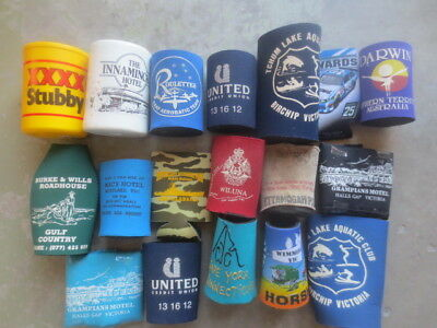 18 different STUBBY HOLDERS ,Hotels etc. Special Issues  collectable
