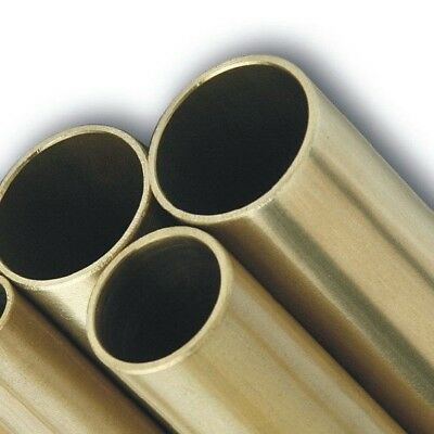 BRASS ROUND TUBES - various wall thickness, diameters and length