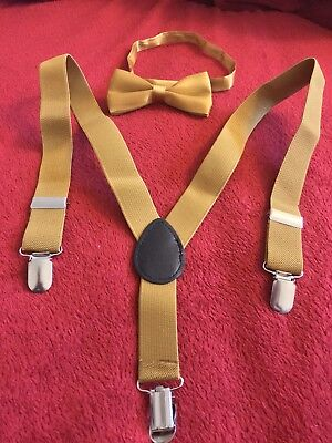 Bow Tie With Suspenders