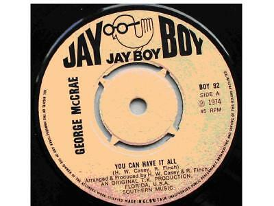 Do you Believe in Love -is it me ~*~ 1974 - George Mc Crae Single