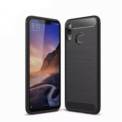 Carbon Huawei Honor Play Case Brushed✔Handy Bumper Full✔Schutz Hülle Cover