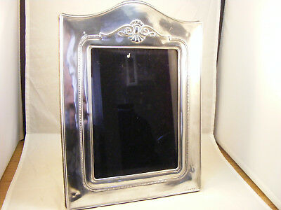 Large 925 grade Solid silver photo frame