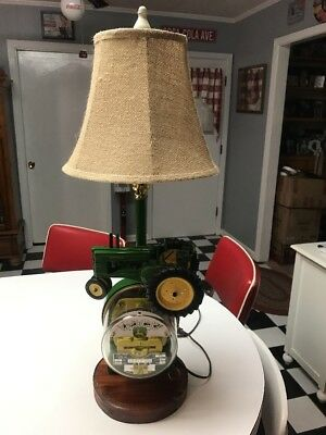 JOHN DEERE Table Lamp Light Limited Edition 1/1031 Made