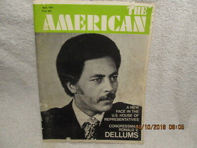 The American Magazine April 1971 Evansville IN African Americans Stories & Ads
