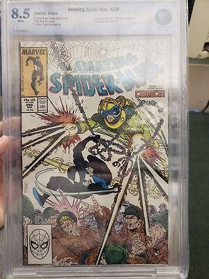 Amazing Spider-man 299 cbcs 8.5