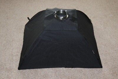 Bowens Soft Box 60cm x 75cm with S Type Adapter - Good Condition