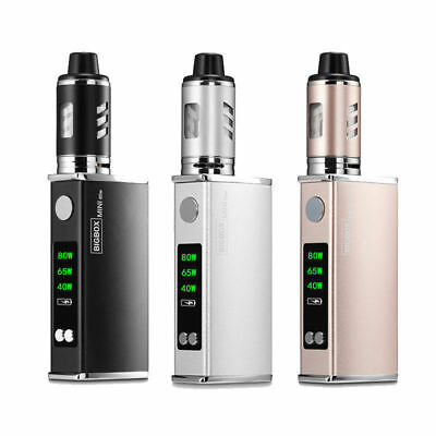 80W LED Tank Vape Electronic Vape E Mod Cigarettes Mini Starter w/ Battery Set
