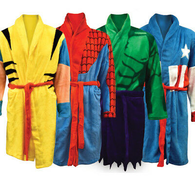 Marvel Dressing Gowns - Official Marvel Superhero Themed Dressing Gowns