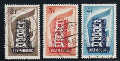 Luxembourg Scott # 318-319 Set ~ Europa Issues ~ Used