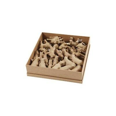 Polar Animal, H: 8-12,8 cm, L: 5,6-11,8 cm, 32pcs [HOB-56194]