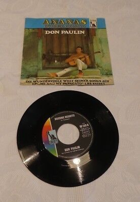 Don Paulin ANANAS Vinyl Single Liberty 15139A *neuwertig*