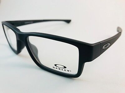 New Authentic Oakley Eyeglasses OX 8121 0155 Airdrop MNP Satin Black w pouch