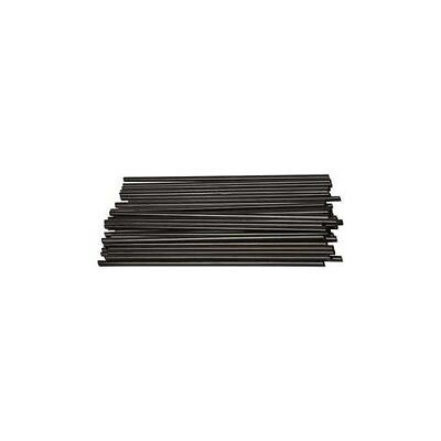 Construction Straw, L: 12,5 cm, D: 3 mm, black, 800pcs [HOB-51932]