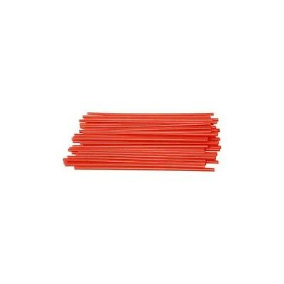 Construction Straw, L: 12,5 cm, D: 3 mm, red, 800pcs [HOB-51933]