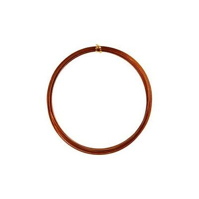 Aluminium Wire, W: 3,5 mm, thickness 0,5 mm, copper, flat, 4,5m [HOB-518346]